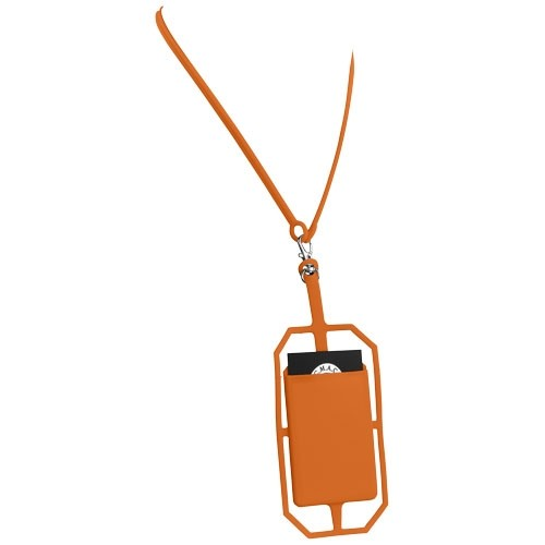 Silicone RFID Card Holder with Lanyard - Bag & Travel