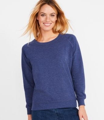 SOL'S Ladies Studio French Terry Raglan Sweatshirt