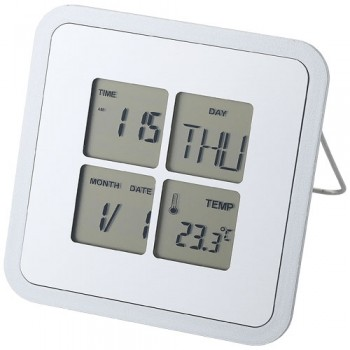 Livorno desk weather clock