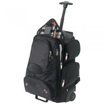 "Proton checkpoint friendly 17"" laptop wheeled backpack"