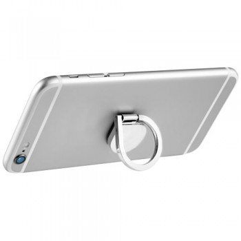 Aluminum ring phone holder