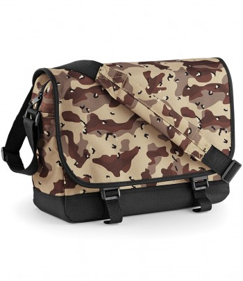 BagBase Camo Messenger Bag