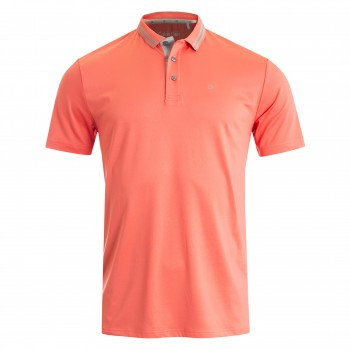 Poly Jersey Tech Polo