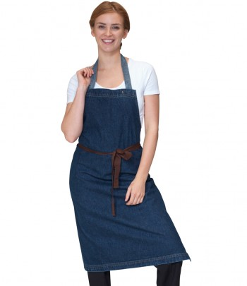Dennys Heavyweight Denim Bib Apron