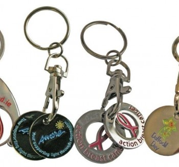 Trolley Token Keyrings