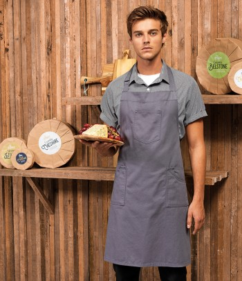 Premier Cotton Chino Bib Apron