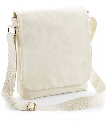 Westford Mill Fairtrade Canvas Midi Messenger