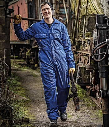 Dickies Redhawk Stud Front Coverall