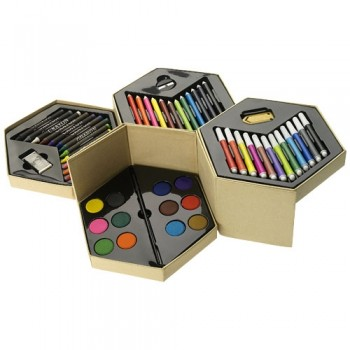 52 piece colouring set