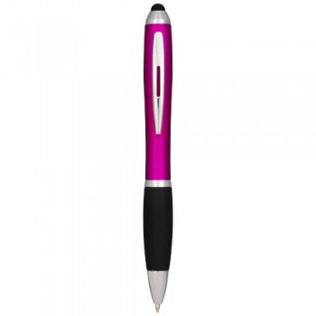 Nash stylus ballpoint pen coloured with black grip