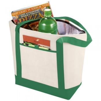 Lighthouse non woven cooler tote