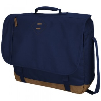 "12014500   Chester 17"" laptop shoulder bag"