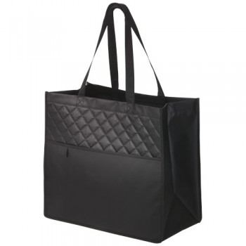 12026700   Cross, Quilted Laminated Non-Woven Carry-All Tote