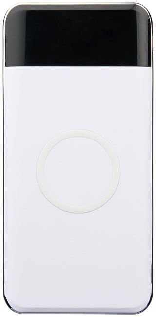 Constant 10,000 mAh wireless power bank with LED, white
