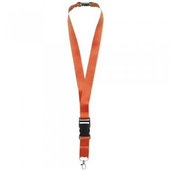 Yogi lanyard with detachable buckle