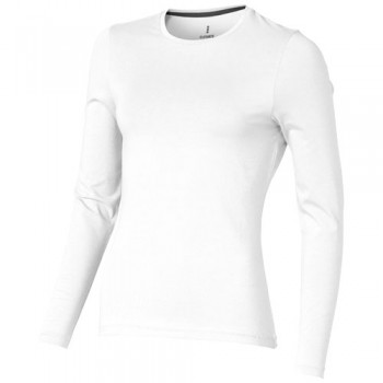 Ponoka long sleeve women's organic t-shirt