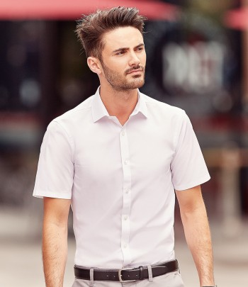961M Russell Collection Ultimate Short Sleeve Stretch Shirt