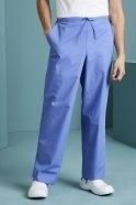 Unisex Fitted Scrub Trousers, Metro Blue