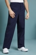 Unisex Fitted Scrub Trousers, Navy