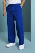 Unisex Fitted Scrub Trousers, Royal