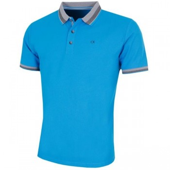 C9388A  Calvin Klein Golf Mens Spark Polo Shirt