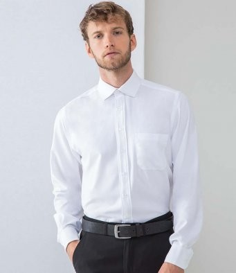H590 Henbury Long Sleeve Wicking Shirt