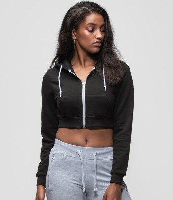 AWDis Girlie Cropped Zoodie