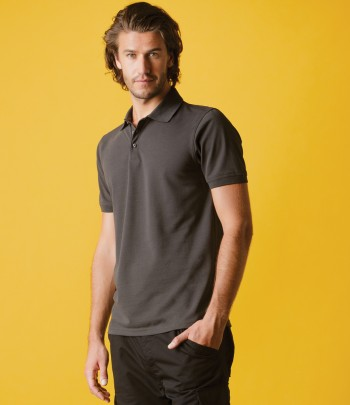 Kustom Kit Klassic Heavy Slim Fit Piqué Polo Shirt