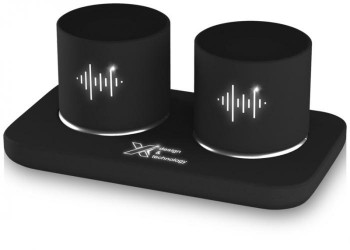 SCX.design S40 light-up dual stereo speaker station