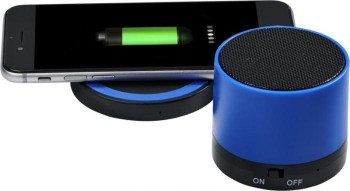 Cosmic Bluetooth® speaker and wireless charging pad