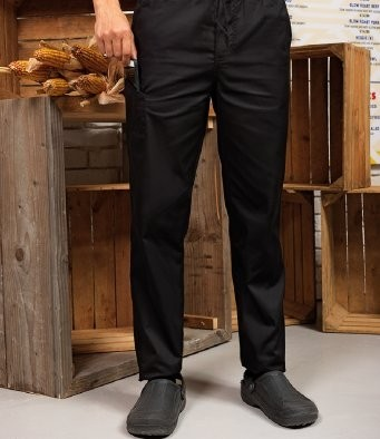 PR554  Premier Select Slim Leg Chef's Trousers