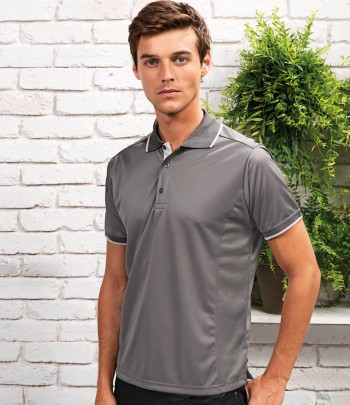 Premier Contrast Coolchecker® Polo Shirt