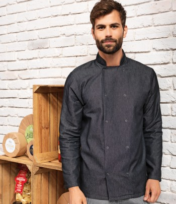 PR660  Premier Denim Chef's Jacket