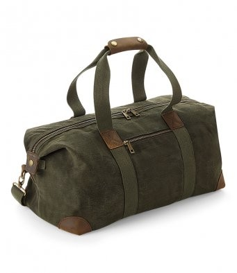 Quadra Heritage Waxed Canvas Holdall