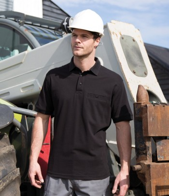 Result Work-Guard Apex Piqué Polo Shirt