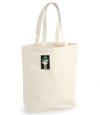 Westford Mill Fairtrade Cotton Camden Shopper