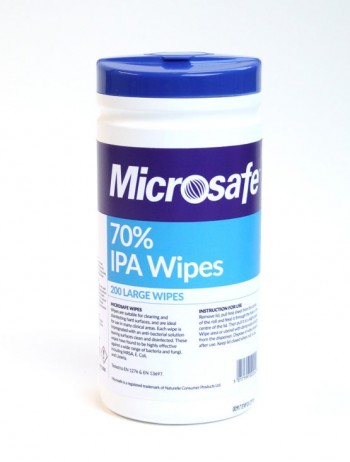 Anti -bacterial Wipes -Tub of 200 sheets